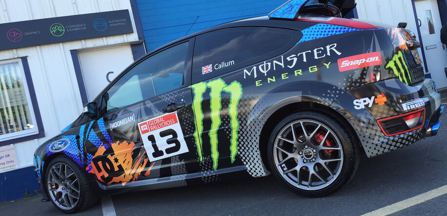 Ken Block Car Wrap
